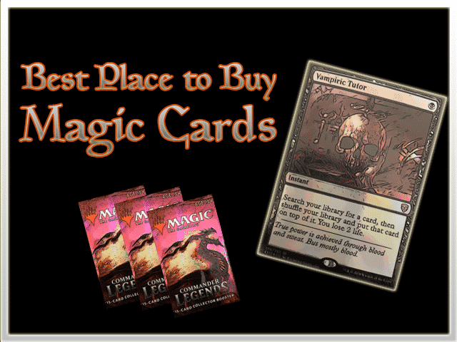 Where is the Best Place to Buy MTG Cards?